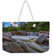 Lower Falls Of The Swift River Weekender Tote Bag