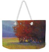 Lower Farm Field Weekender Tote Bag