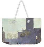 Lower Fifth Avenue Weekender Tote Bag by Childe Hassam