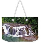 Lower Lewis Falls Weekender Tote Bag