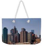 Lower Manhattan Nyc #2 Weekender Tote Bag