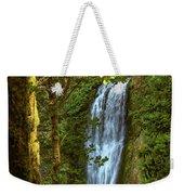 Lower Multanomah Falls, Oregon Weekender Tote Bag