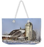 Lower Newton Rd. Barn Weekender Tote Bag