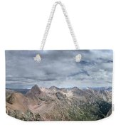 Lower North Eolus From The Catwalk - Chicago Basin - Weminuche Wilderness - Colorado Weekender Tote Bag
