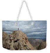 Lower North Eolus From The Catwalk Detail - Chicago Basin - Weminuche Wilderness - Colorado Weekender Tote Bag