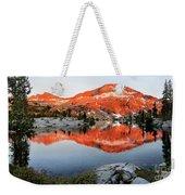 Lower Ottoway Lake Sunset - Yosemite Weekender Tote Bag