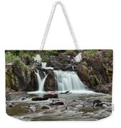 Lower Red Rocks Falls Weekender Tote Bag by Jemmy Archer