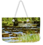 Lower Tahquamenon Falls 6128 Weekender Tote Bag