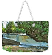 Lower Tahquamenon Falls Weekender Tote Bag