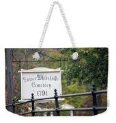Lower White Hills Cemetery Weekender Tote Bag