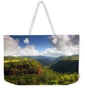 Lower Wiamea View Weekender Tote Bag