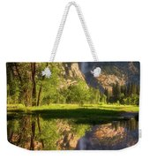 Lower Yosemite Morning Weekender Tote Bag