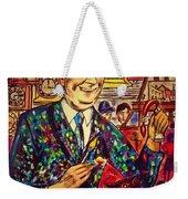 Lowry's Painting Suit Vintage Weekender Tote Bag