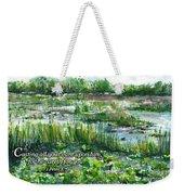Loxahatchee Marsh 1 Peter 5 Weekender Tote Bag