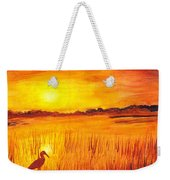 Loxahatchee Sunrise Weekender Tote Bag