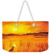 Loxahatchee Sunrise Weekender Tote Bag