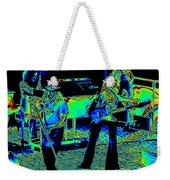 Ls #40 Enhanced Cosmically Weekender Tote Bag