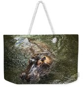Lu The Homosassa Hippo Weekender Tote Bag