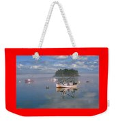 Lubec Waterfront Weekender Tote Bag