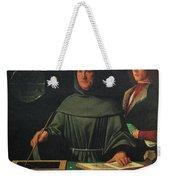Luca Pacioli, Franciscan Friar Weekender Tote Bag