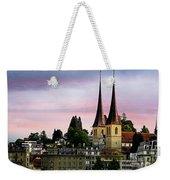 Lucerne 8 Weekender Tote Bag