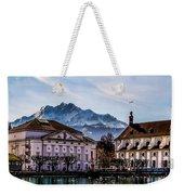 Lucerne's Architecture Weekender Tote Bag