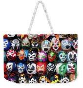 Lucha Libre Wrestling Masks Weekender Tote Bag