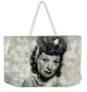 Lucille Ball Vintage Hollywood Actress Weekender Tote Bag