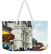 Lucky Dogs And St. Louis Cathedral Weekender Tote Bag