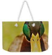 Lucky Ducky Weekender Tote Bag
