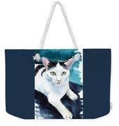 Lucky Elvis - Cat Portrait Weekender Tote Bag
