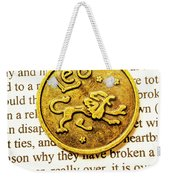 Lucky Leo Charms Weekender Tote Bag