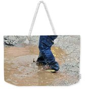 Lucky Puddle  Weekender Tote Bag