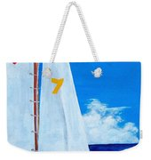 Lucky Seven Weekender Tote Bag