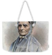 Lucretia Coffin Mott Weekender Tote Bag by Granger