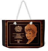 Lucy Sca Plaque  Weekender Tote Bag
