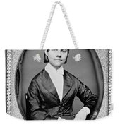 Lucy Stone, American Abolitionist Weekender Tote Bag
