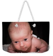 Lucy Weekender Tote Bag by Valeria Donaldson