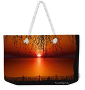 Ludington Sunset April 2016 Weekender Tote Bag