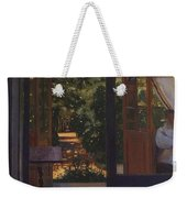 Ludmila In The Garden Chernomor On The Subject Of The Poem Of Pushkins Ruslan And Lyudmila 1897 Konstantin Andreevich 1869-1939 Somov Weekender Tote Bag