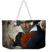 Ludwig Van Beethoven 1820 Weekender Tote Bag