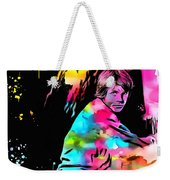 Luke Skywalker Paint Splatter Weekender Tote Bag