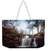 Lumb Falls Panoramic Weekender Tote Bag