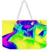 Luminescent Lynda Weekender Tote Bag