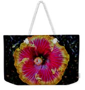 Luminous Bloom Weekender Tote Bag