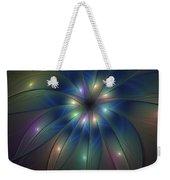 Luminous Fractal Art Weekender Tote Bag