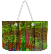 Luminous Landscape Abstract Weekender Tote Bag