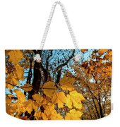 Luminous Leaves Weekender Tote Bag