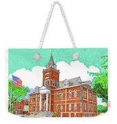 Luna County Court House  Deming  N M   Weekender Tote Bag
