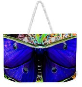 Luna Moth Uv Pano Weekender Tote Bag